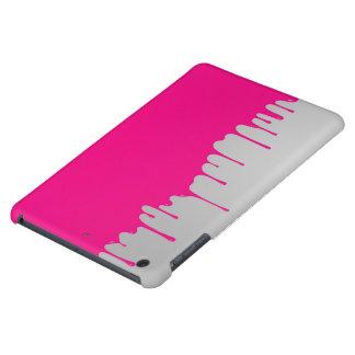 minimalistic pink paint iPad mini case