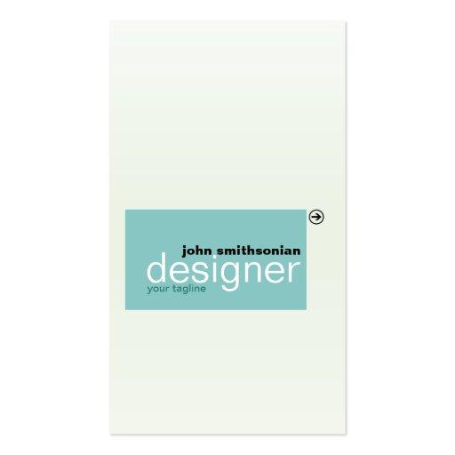Minimalistic Tiles Business Card