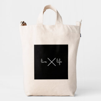 minimalisticseies: livelife.//totebag duck bag