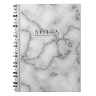Minimalist's  Marble Notebook