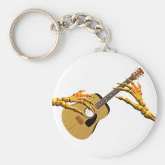 Minimizando la guitarra al hueso por Valxart Llavero Personalizado