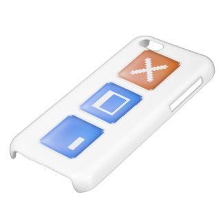 Minimize Maximize Close Computer Internet Cover For iPhone 5C