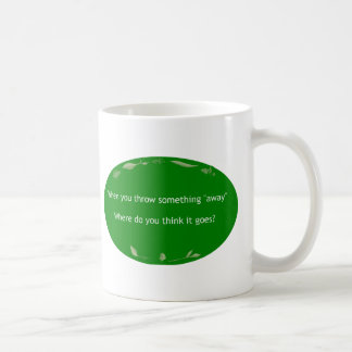 Minimize Waste Classic White Coffee Mug
