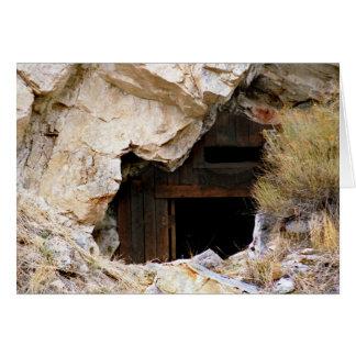 Mining Backbone Greeting Card