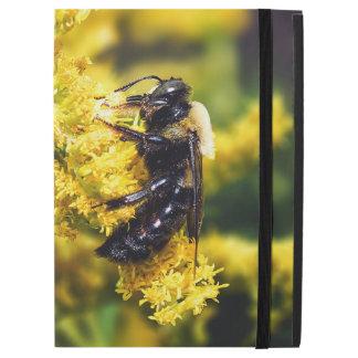Mining Bee on Goldenrod iPad Case