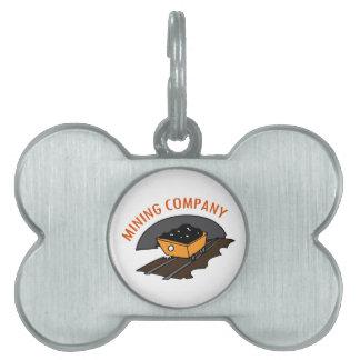 Mining Company Pet ID Tags