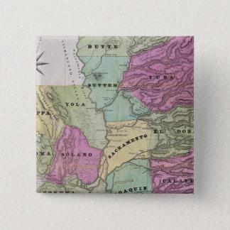 Mining District of California Pinback Button