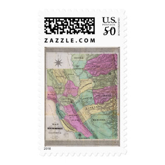 Mining District of California Postage