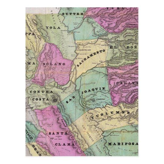 Mining District of California Postcard