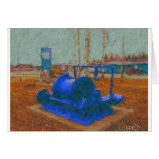 mining equipment painting by hart card