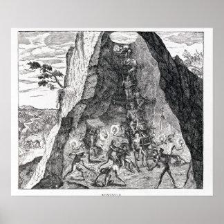 Mining', Francfort, 1602 Posters