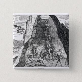 Mining', Frankfurt, 1602 Button