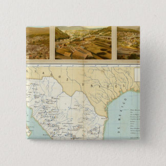 Mining in Mexico Pinback Button