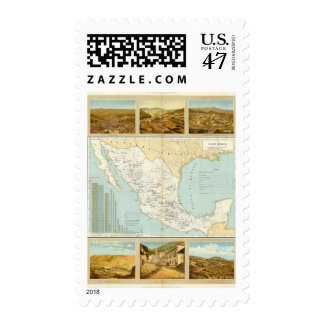 Mining in Mexico Postage Stamp