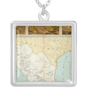 Mining in Mexico Silver Plated Necklace