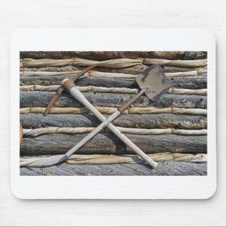 Mining Pick And Shovel Mouse Pad