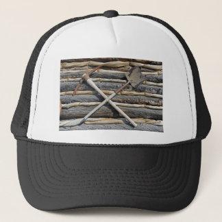 Mining Pick And Shovel Trucker Hat