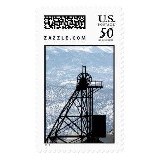 Mining Rig, Gold Hill, Nevada Postage