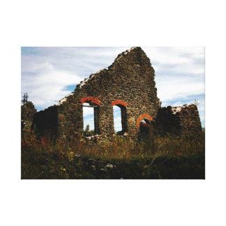 Mining Ruins Hancock Michigan Canvas Print