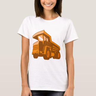 mining truck low angle retro style T-Shirt