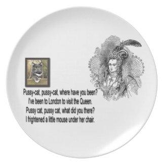 Minino, placa del minino platos