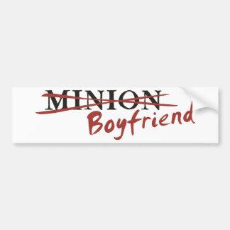 Minion Boyfriend Car Bumper Sticker