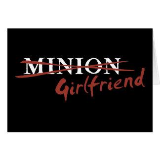 Minion Girlfriend Card