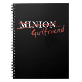 Minion Girlfriend Notebook