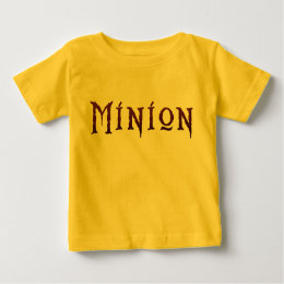 Minion Infant Shirt