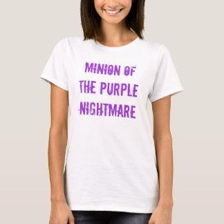Minion of the Pruple Nightmare T-shirt