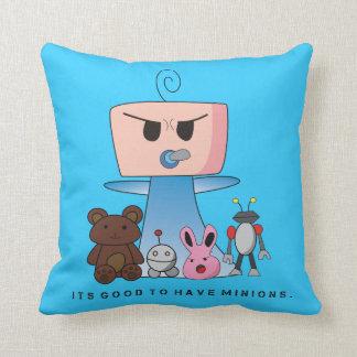 """Minions"" Cushion - An Angry Baby Design"