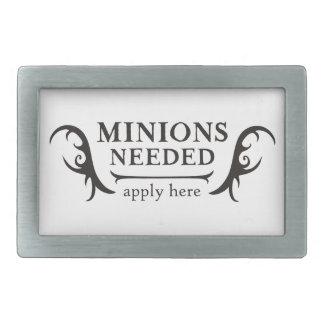 Minions Needed Rectangular Belt Buckle
