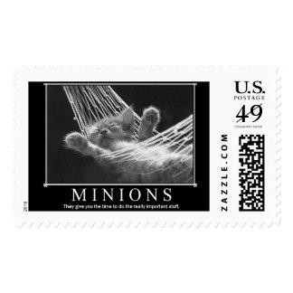 Minions Postage Stamp