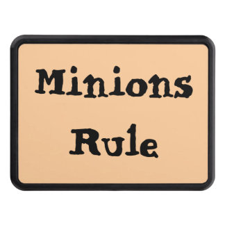 Minions Rule Tow Hitch Covers