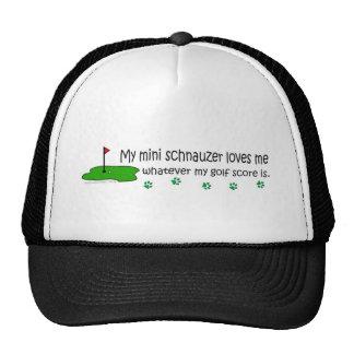 MiniSchnauzer Mesh Hat