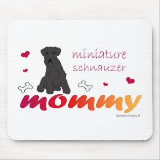 MiniSchnauzerBlk Mouse Pad