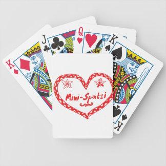 MiniSpatzi Poker Deck