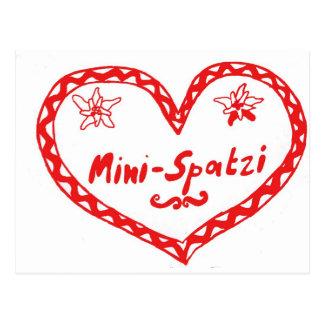 MiniSpatzi Postcard