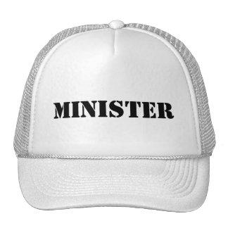MINISTER BASEBALL CAP TRUCKER HAT