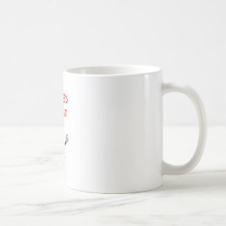 minister joke classic white coffee mug