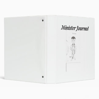 MINISTER JOURNAL 3 RING BINDER
