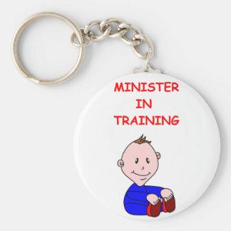 MINISTER KEY CHAIN