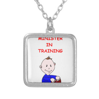 MINISTER CUSTOM NECKLACE