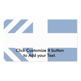 Minister Of Defence Of Greece, Ghana Business Card Template