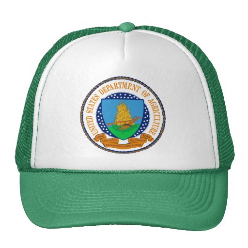 Ministerio de Agricultura de Estados Unidos Gorro De Camionero