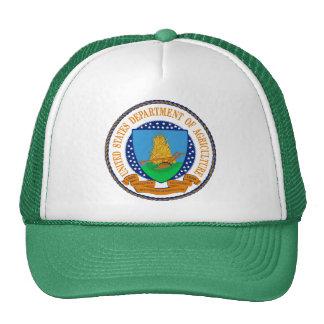 Ministerio de Agricultura de Estados Unidos Gorras