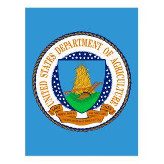 Ministerio de Agricultura de Estados Unidos Tarjetas Postales