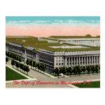 Ministerio de postal del vintage del Comercio
