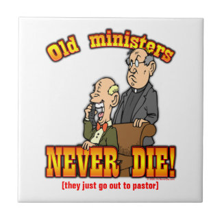 Ministers Small Square Tile