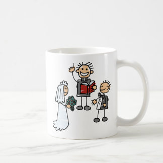 Ministro ceremonia de boda reverenda de Performs Taza De Café